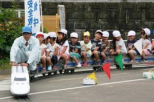 ミニ新幹線乗車