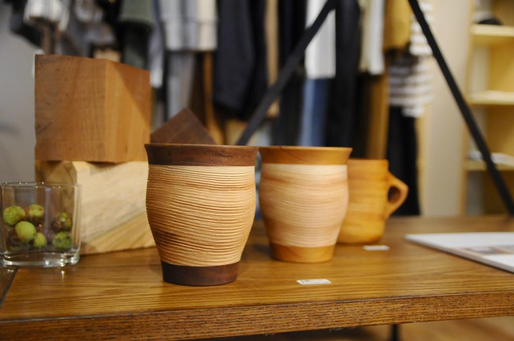 ムクロジ木器 マグカップ