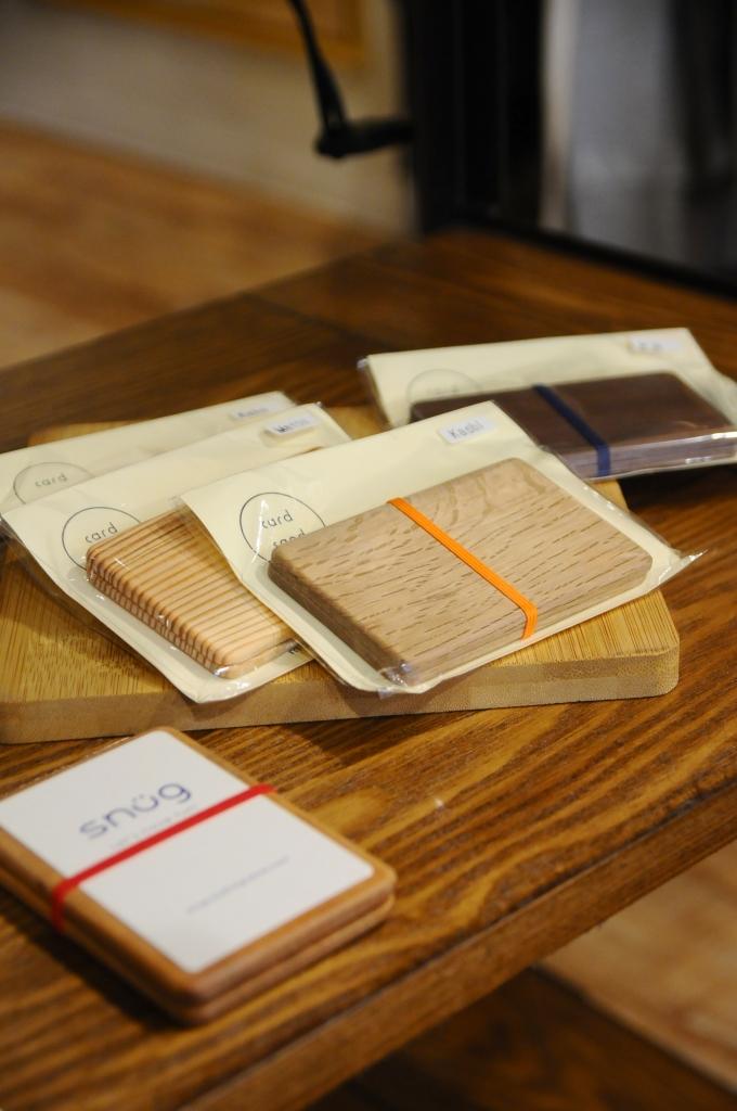 ムクロジ木器 card sand