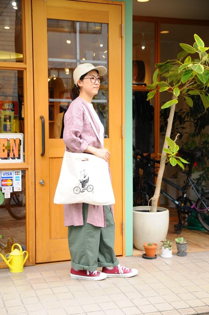 4周年記念キャンバスバッグ(女性モデル)