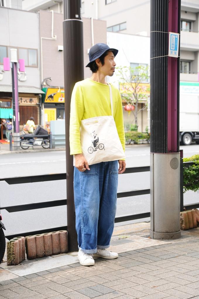 4周年記念キャンバスバッグ(男性モデル)