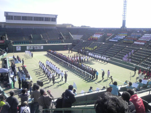 富山県代表入場