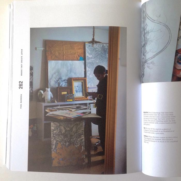 """14d5121337 KYOTAROも被写体として参加しております、写真家ポール・バーベラの写真展「Where They Create """"JAPAN""""」を新宿ビームス  ジャパンで2017年10月4日(水)~10 ..."""