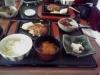 お豆腐バーグ定食