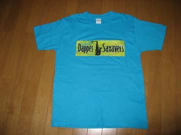 ダッパーTシャツ水色