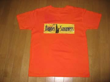 ダッパーTシャツオレンジ