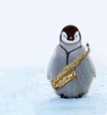 ペンギンとサックス