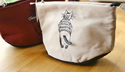 猫 雑貨 ポーチ