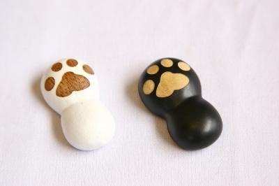 猫雑貨 猫グッズ 箸 箸置き 肉球 キッチン雑貨 食器