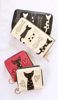 猫雑貨 猫グッズ 肉球 財布