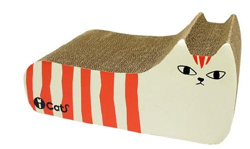 猫雑貨 首輪 爪とぎ