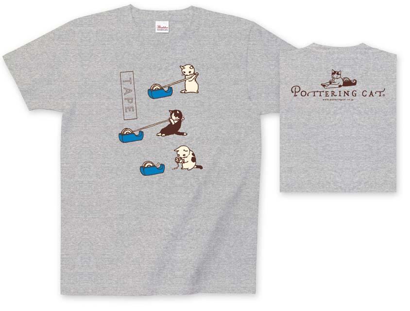 ポタリングキャット Tシャツ 猫雑貨