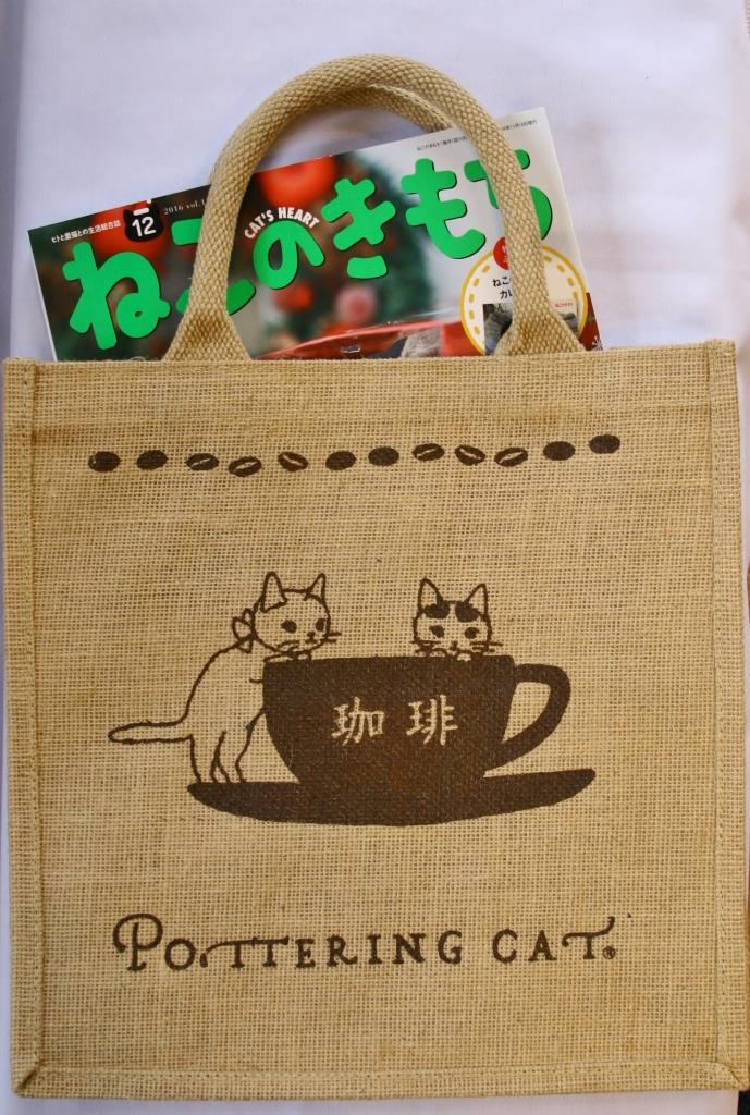 ポタリングキャット バッグ 猫雑貨
