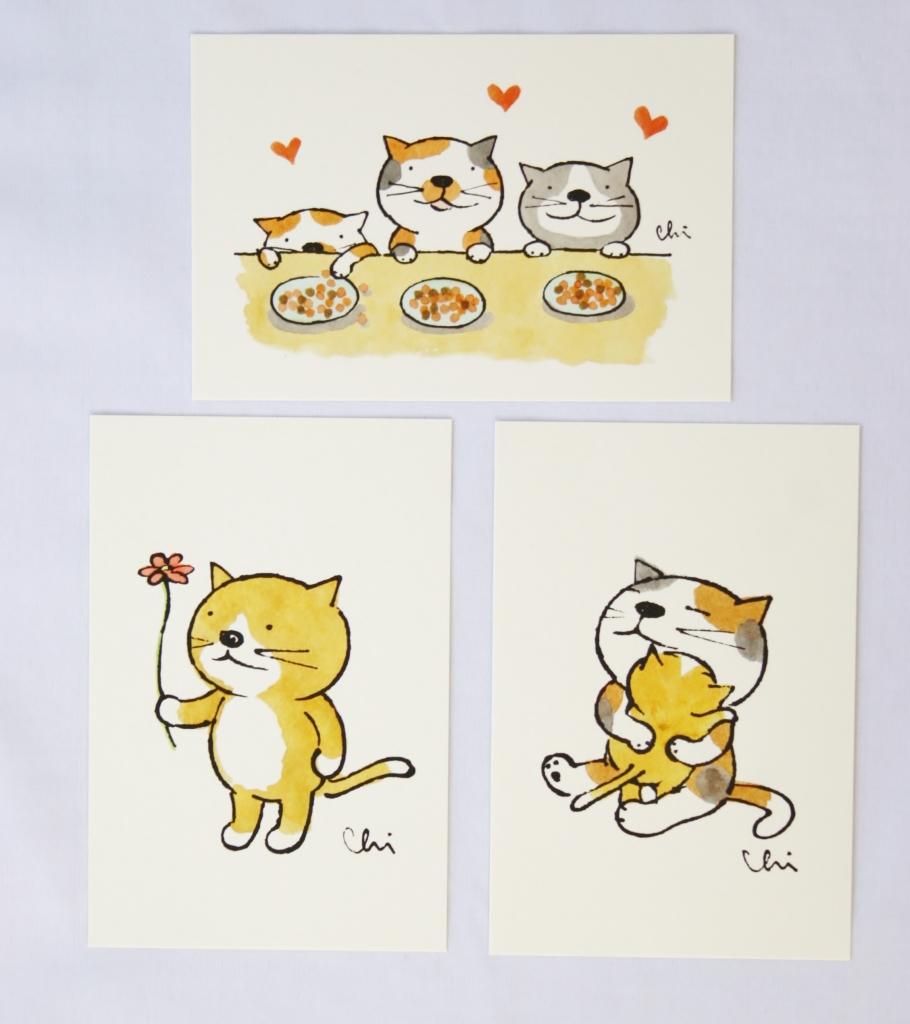 カミムラアキコ 猫 ハンドメイド 猫雑貨