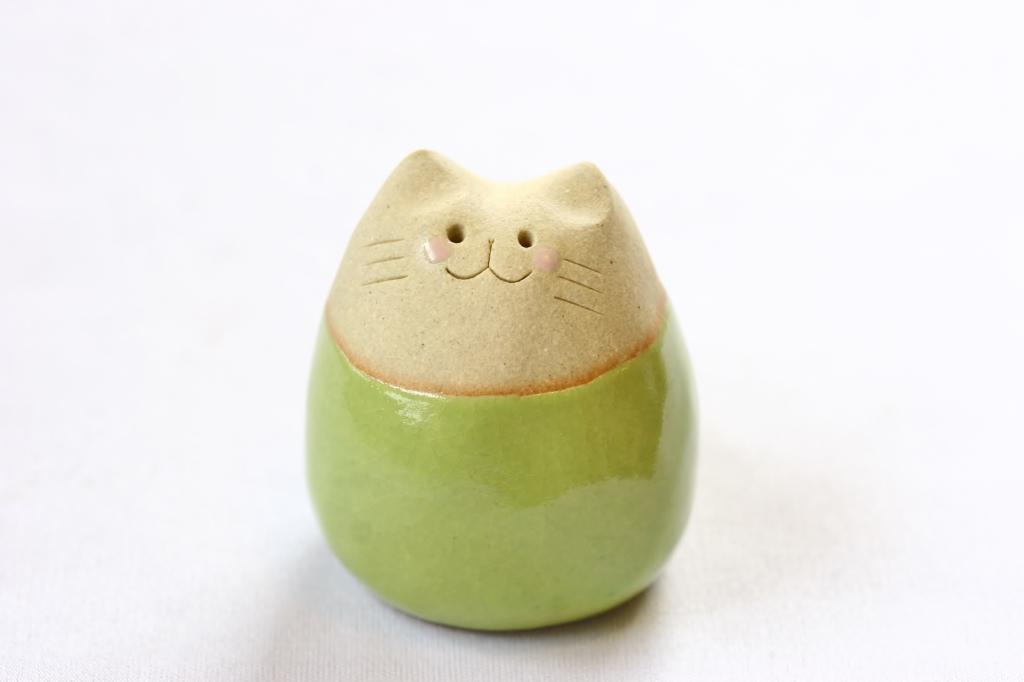 工房にこり 陶器 ハンドメイド 猫雑貨 秋田