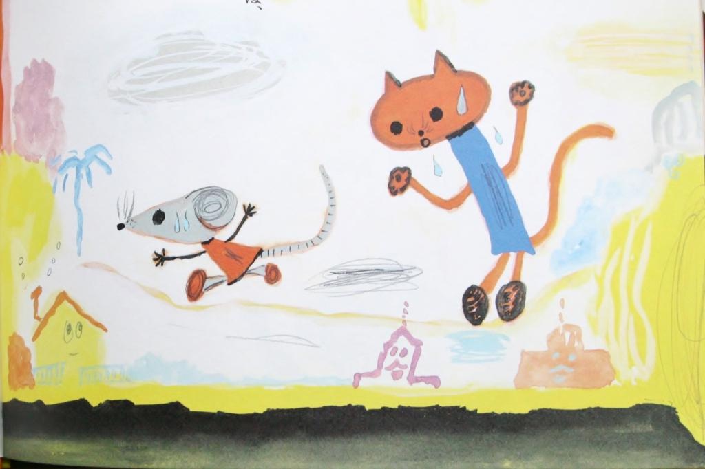 十二支のはじまり 荒井良二 やまちかずひろ 猫絵本 絵本 秋田 かぎしっぽ