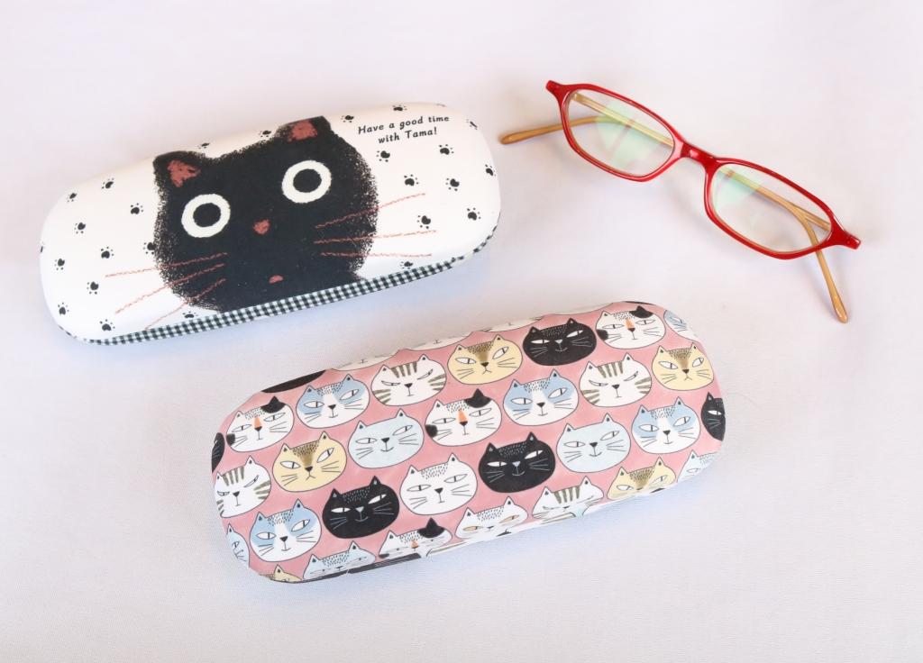 ノアファミリー 眼鏡ケース 猫雑貨 秋田 かぎしっぽ