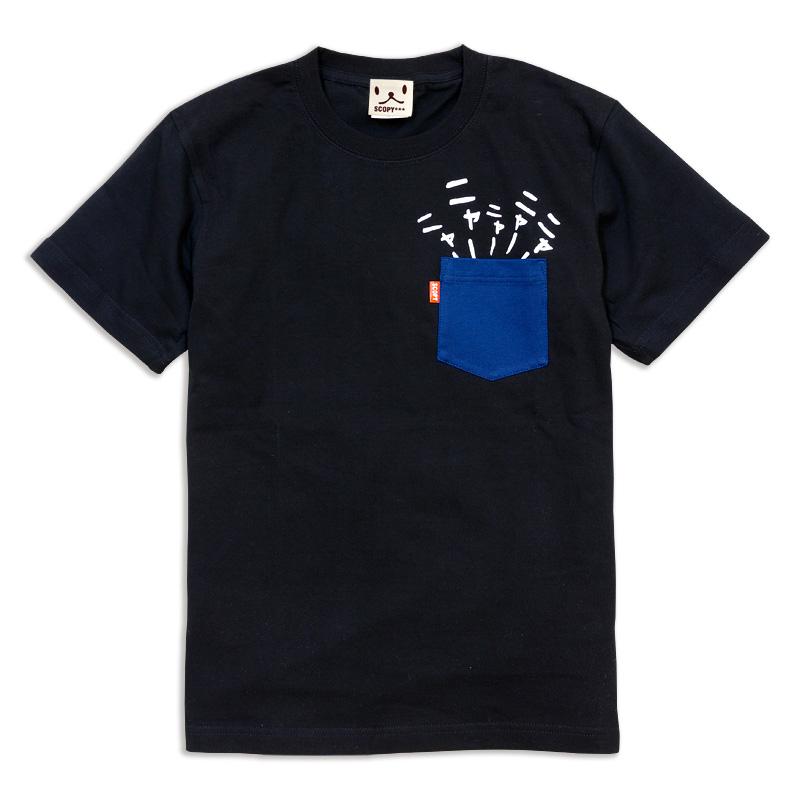 隠れネコTシャツ スコーピー 猫雑貨 秋田 かぎしっぽ