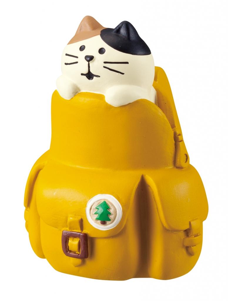 猫雑貨 秋田 かぎしっぽ コンコンブル concombre 旅猫登山部