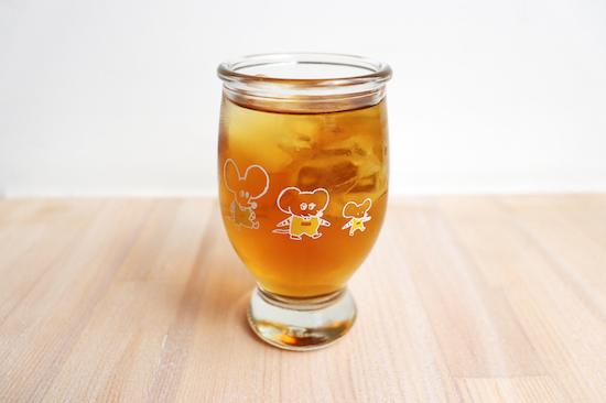 めがねこ 手紙社 手紙舎 猫雑貨 秋田 かぎしっぽ ワンカップグラス
