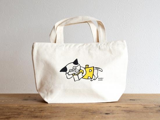 めがねこ 手紙社 手紙舎 猫雑貨 秋田 かぎしっぽ ランチバッグ