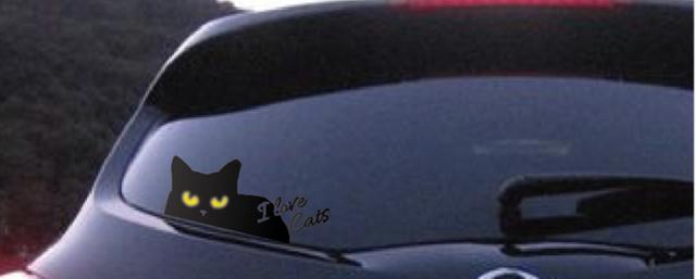 ステッカー ぷらすらびっと 秋田 猫雑貨 かぎしっぽ