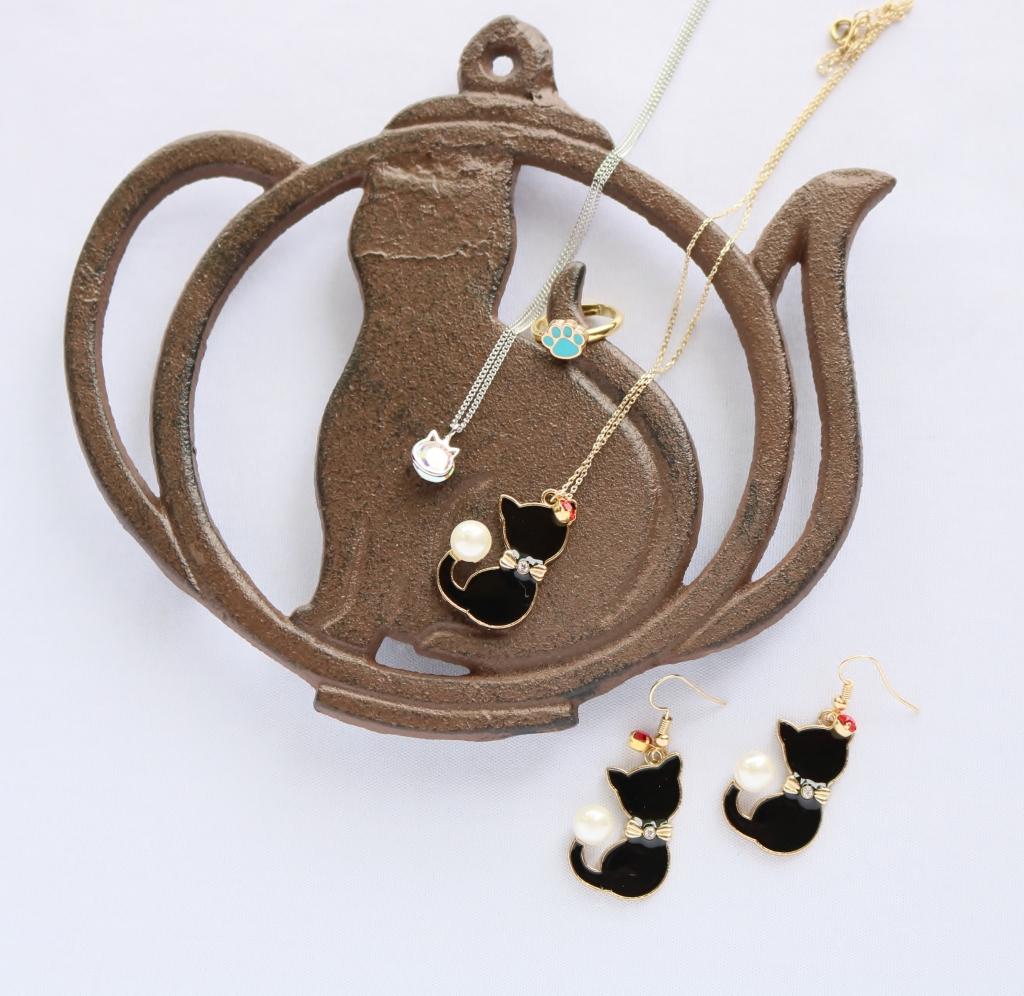 ハンドメイド MIMI's accessory 猫アクセサリー 猫雑貨 秋田 かぎしっぽ