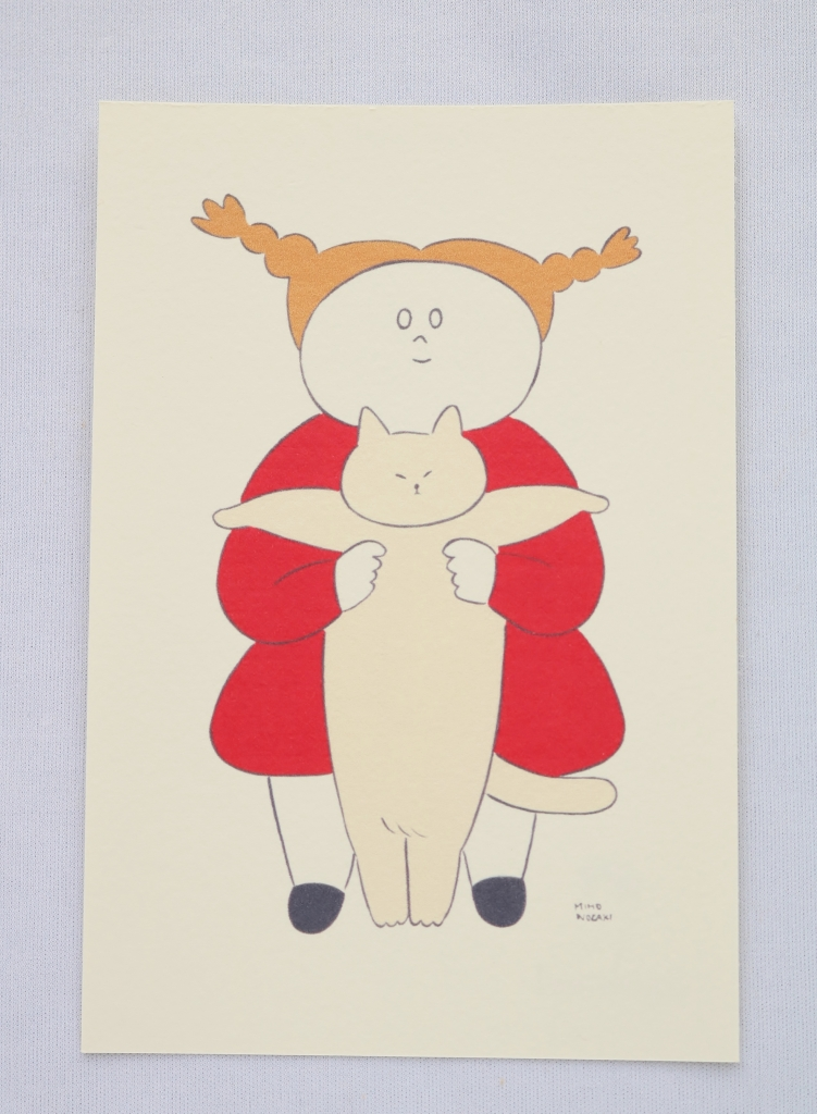 Zacchino! ポストカード 猫雑貨 秋田 かぎしっぽ