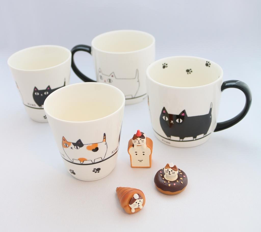 猫雑貨 猫グッズ 秋田 かぎしっぽ グラス