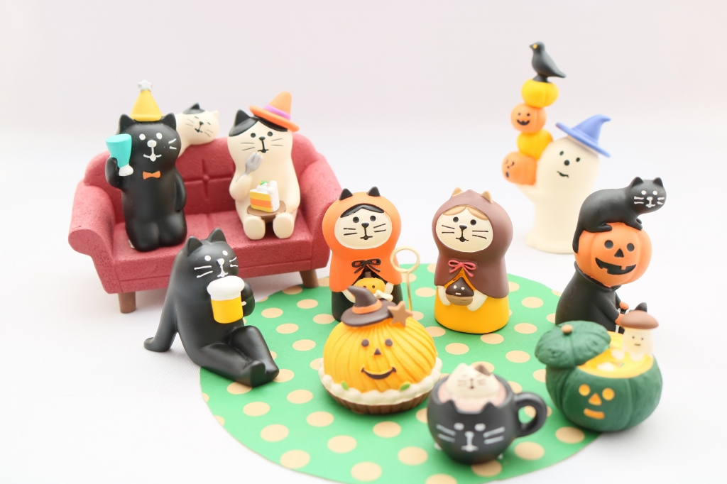 concombre コンコンブル ハロウィン 猫雑貨 猫グッズ 秋田 かぎしっぽ