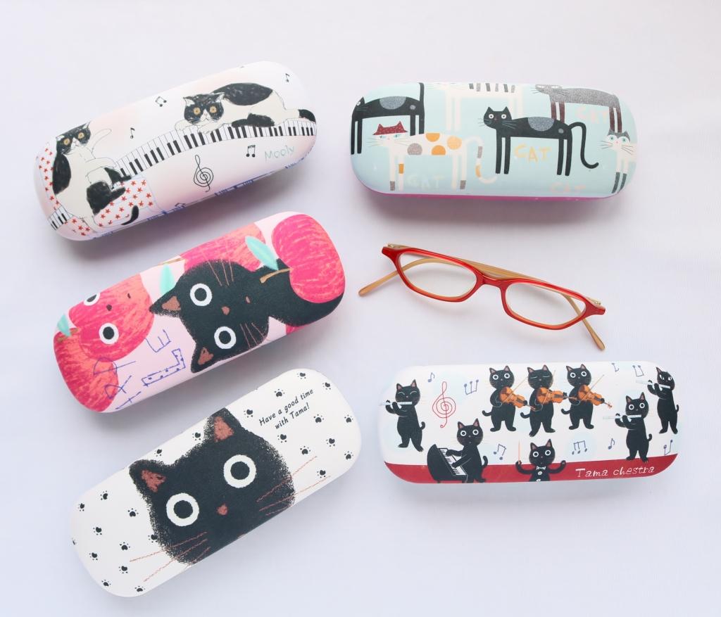 ノアファミリー 眼鏡ケース 猫雑貨 猫グッズ 秋田 かぎしっぽ