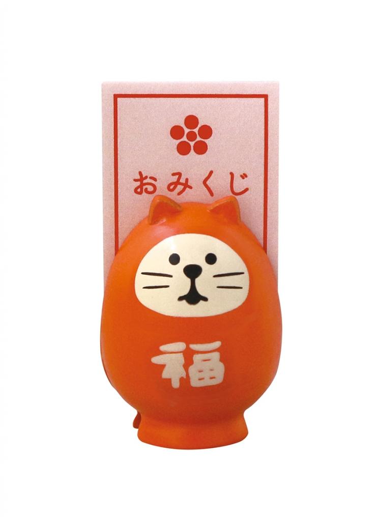 猫雑貨 猫グッズ 秋田 かぎしっぽ デコレ コンコンブル メモスタンド concombre