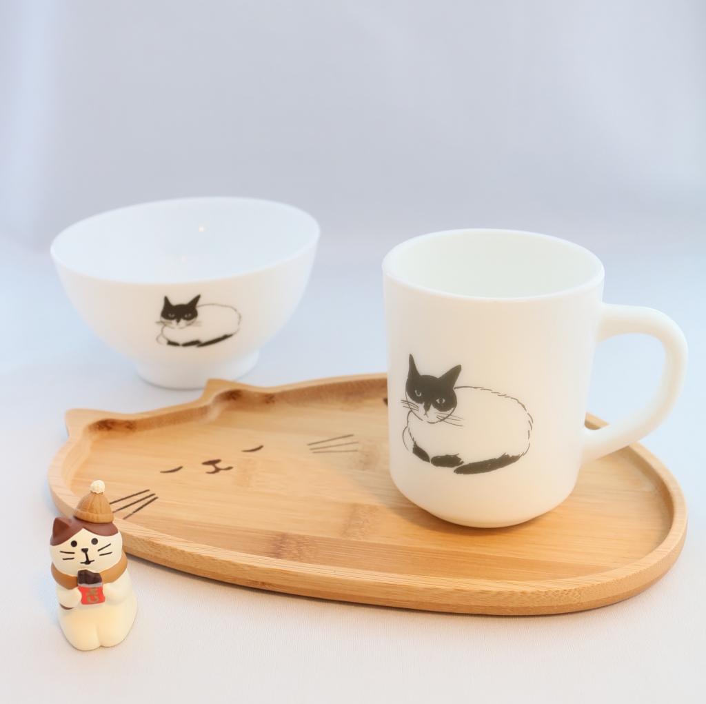 猫雑貨 猫グッズ 秋田 かぎしっぽ 松尾ミユキ 皿 プレート