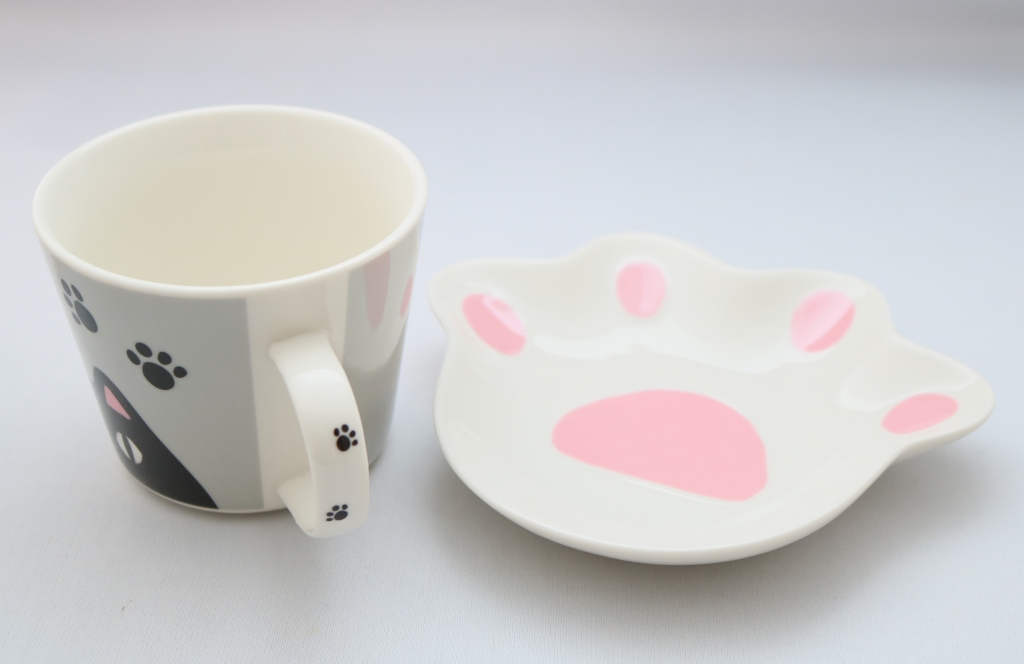猫雑貨 猫グッズ マグカップ  肉球