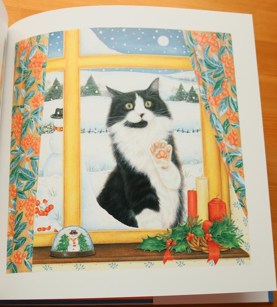 秋田 絵本 猫本 かぎしっぽ こねこのみつけたクリスマス アンモーティマー