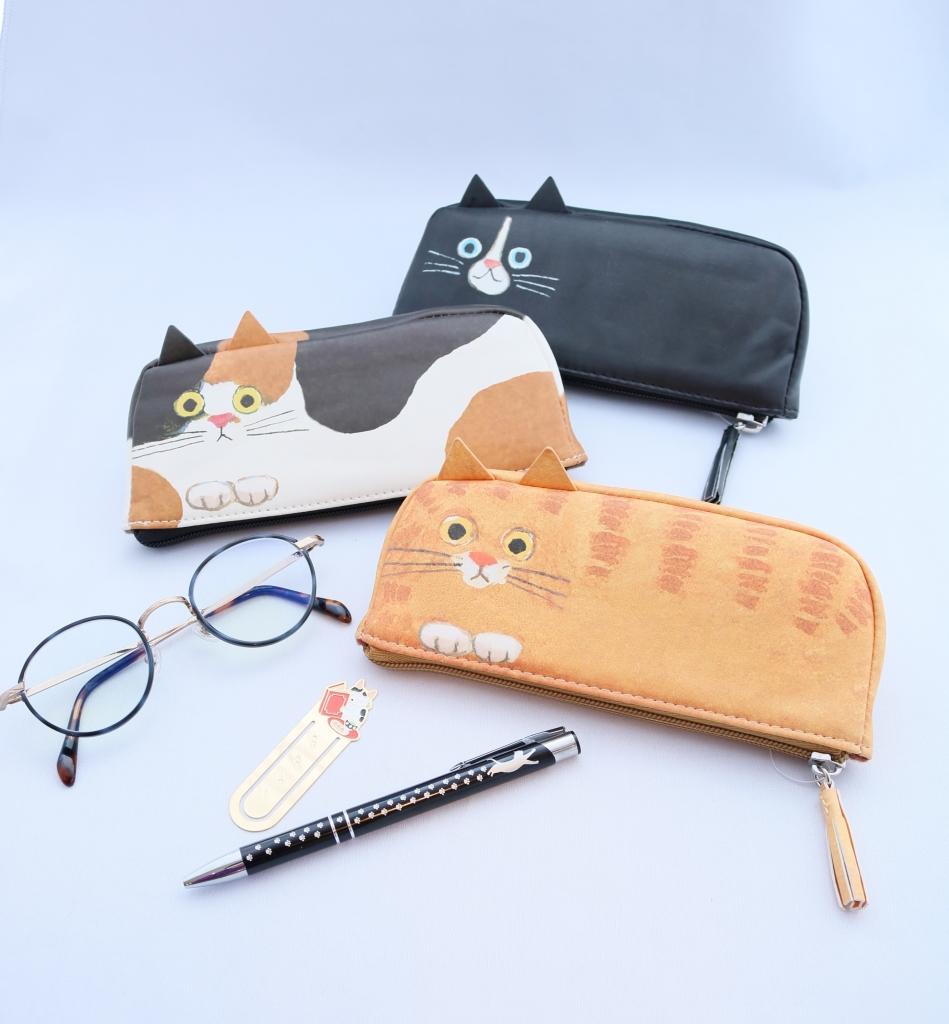 猫雑貨 猫グッズ 秋田 かぎしっぽ ニャンコ巾着 巾着 ポーチ