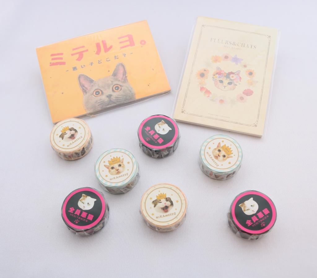 とことこサーカス ポストカード ステッカー 猫雑貨 猫グッズ 秋田 かぎしっぽ