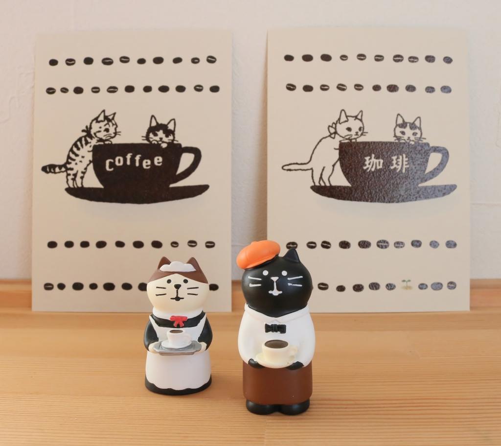 猫雑貨 猫グッズ ポタリングキャット ポストカード 秋田 かぎしっぽ