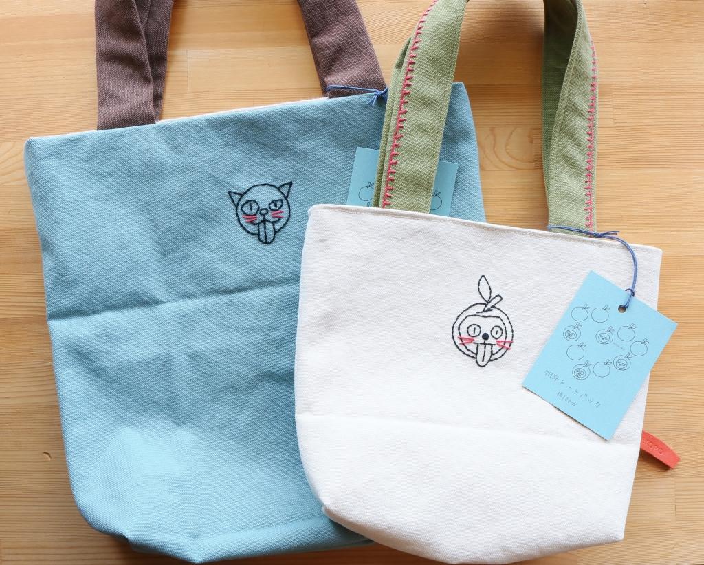 猫雑貨 猫グッズ 秋田 かぎしっぽ バッグ ハンドメイド nenekoro