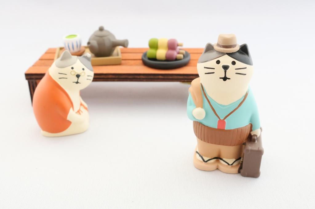 コンコンブル concombre 猫雑貨 猫グッズ 秋田 かぎしっぽ