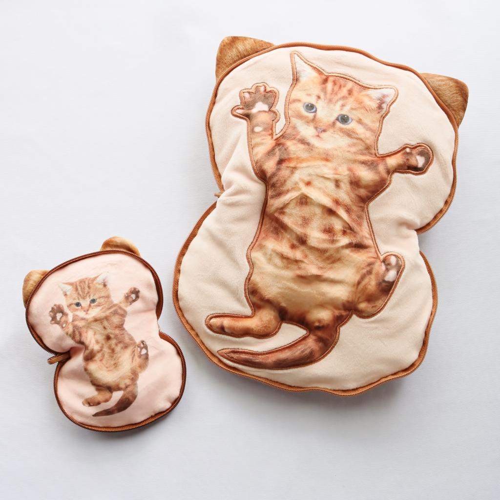 猫雑貨  猫グッズ 秋田 かぎしっぽ ポーチ