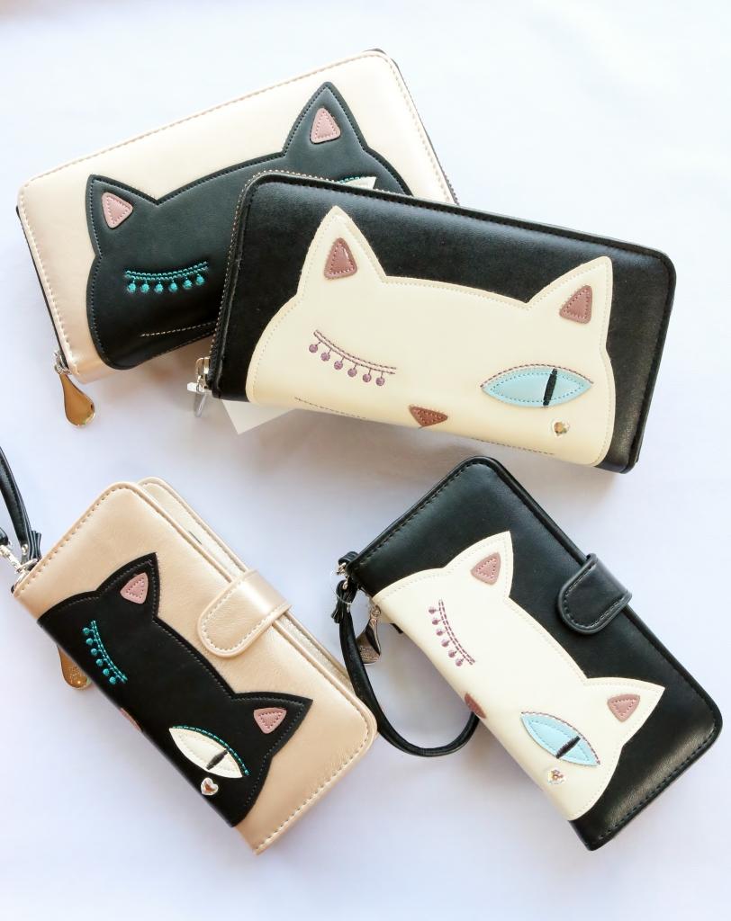 猫雑貨 猫グッズ 秋田 かぎしっぽ ノアファミリー 長財布 財布 スマホケース