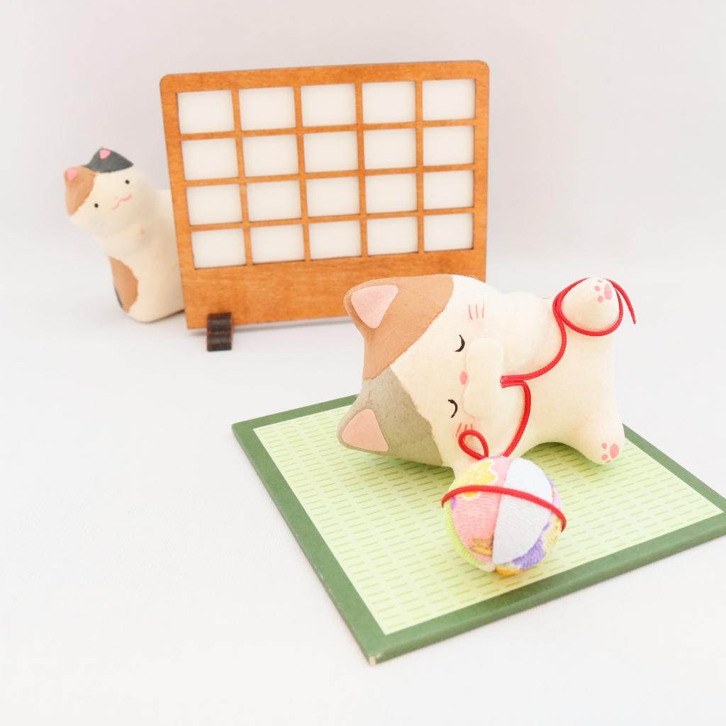 猫雑貨 猫グッズ 秋田 かぎしっぽ 人形