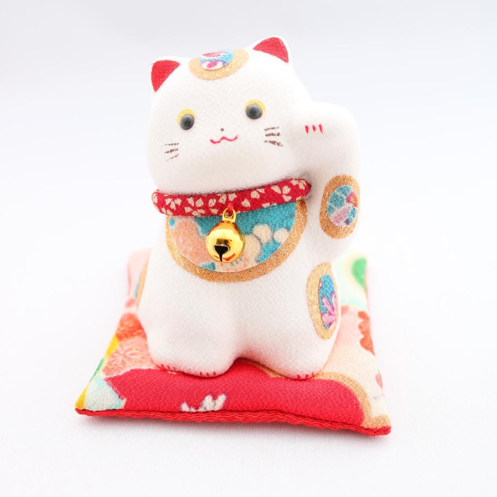 猫雑貨 猫グッズ 秋田 かぎしっぽ 招き猫 人形