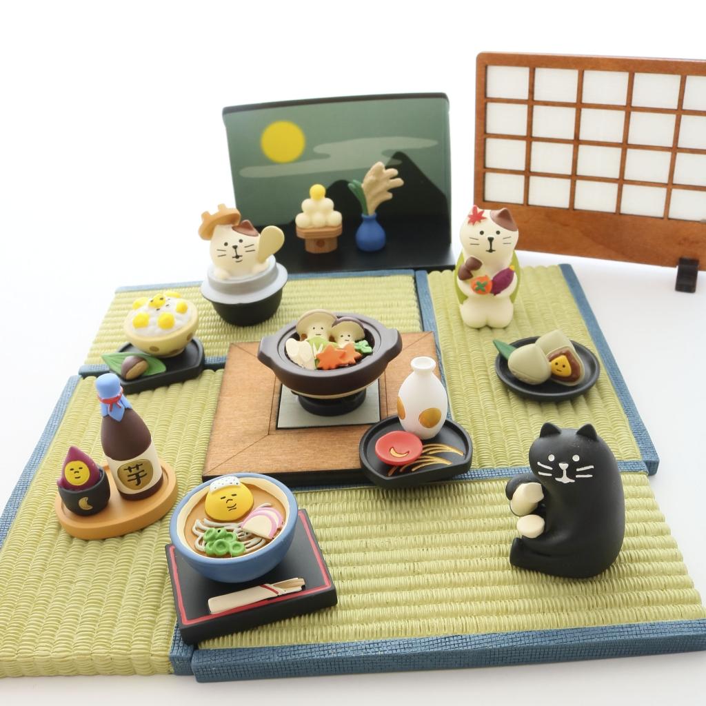 コンコンブル concombre お月見 猫雑貨 猫グッズ 秋田 かぎしっぽ