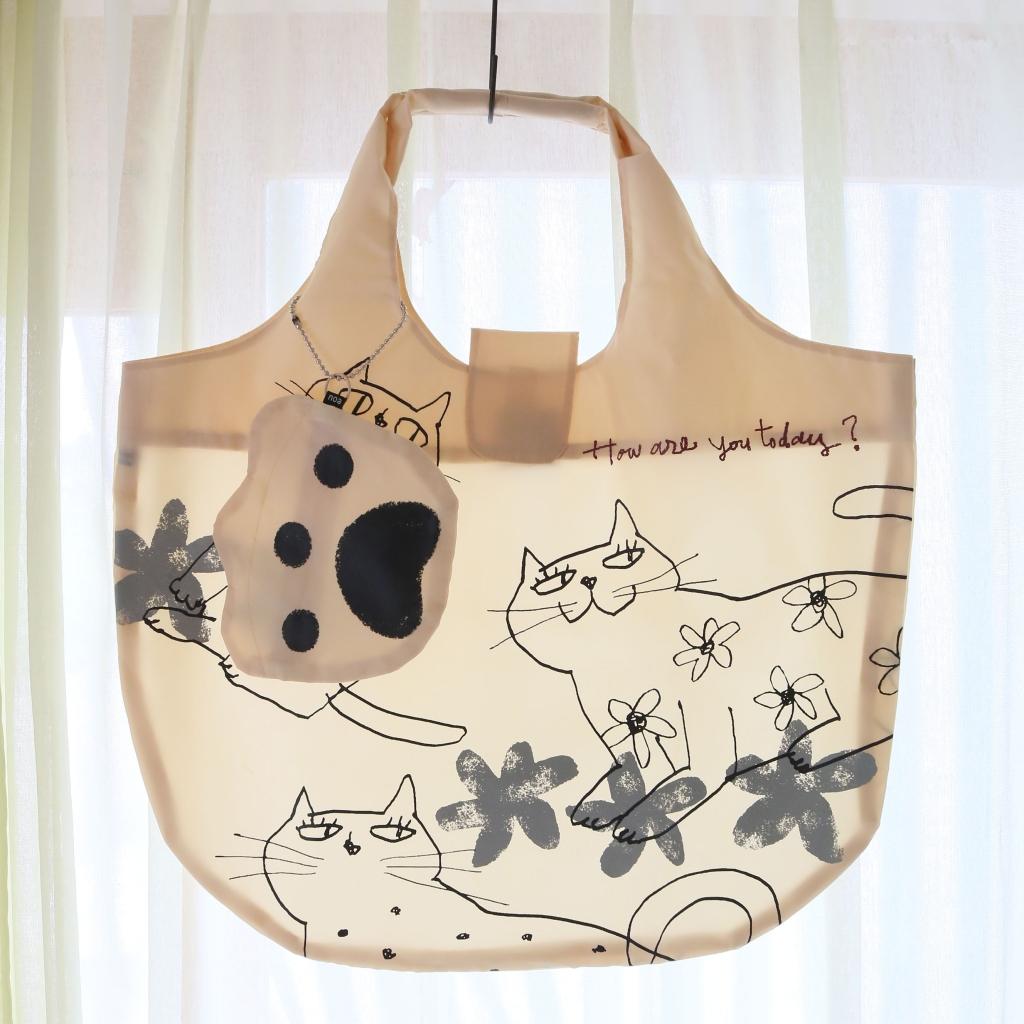 猫雑貨 猫グッズ かぎしっぽ エコバッグ 秋田 バッグ
