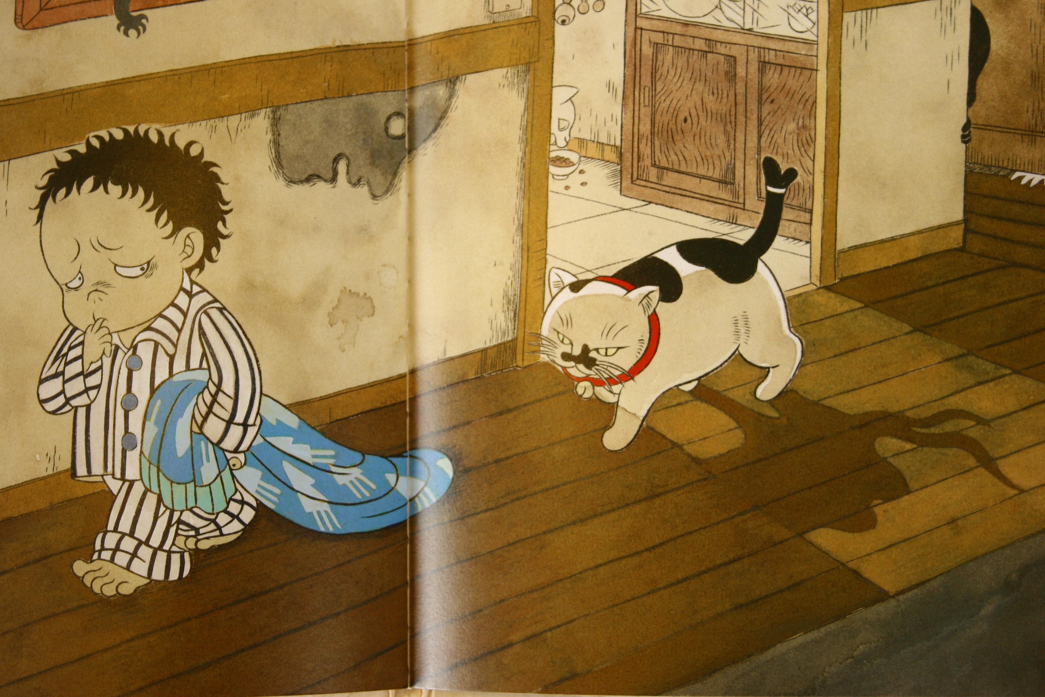 猫絵本 絵本 猫雑貨 秋田 かぎしっぽ とうふこぞう 石黒亜矢子