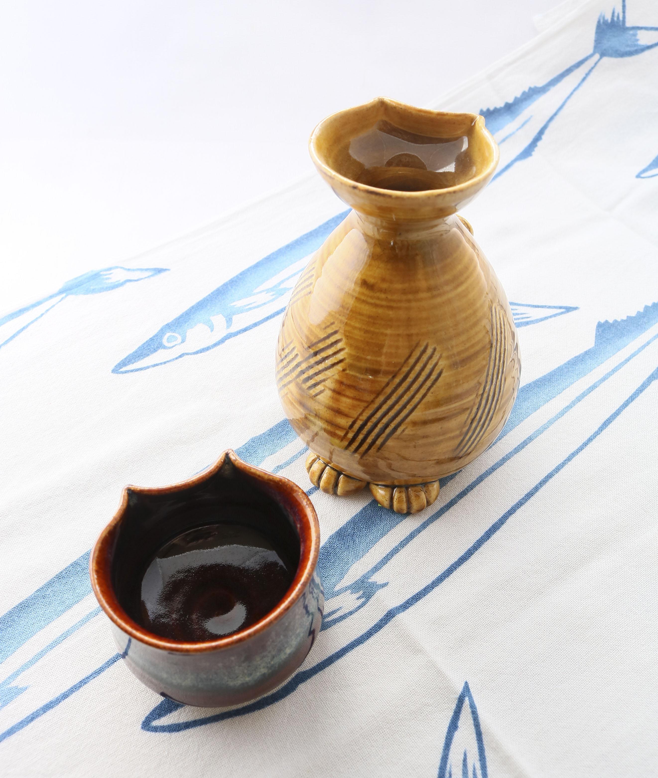 猫雑貨 猫グッズ 秋田 かぎしっぽ ぐい吞み マグカップ カップ 陶器 kijin