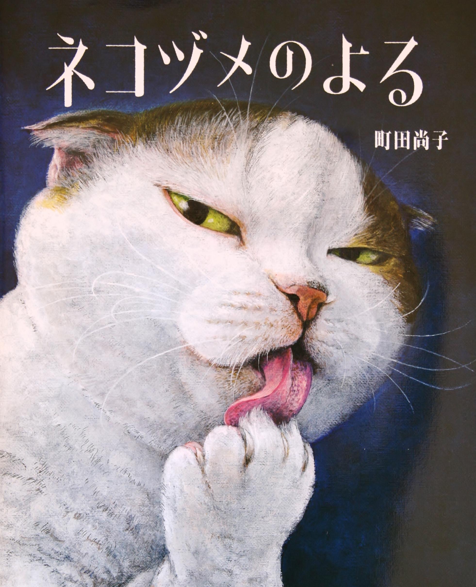 ネコヅメのよる 町田尚子 猫絵本 絵本 かぎしっぽ 秋田