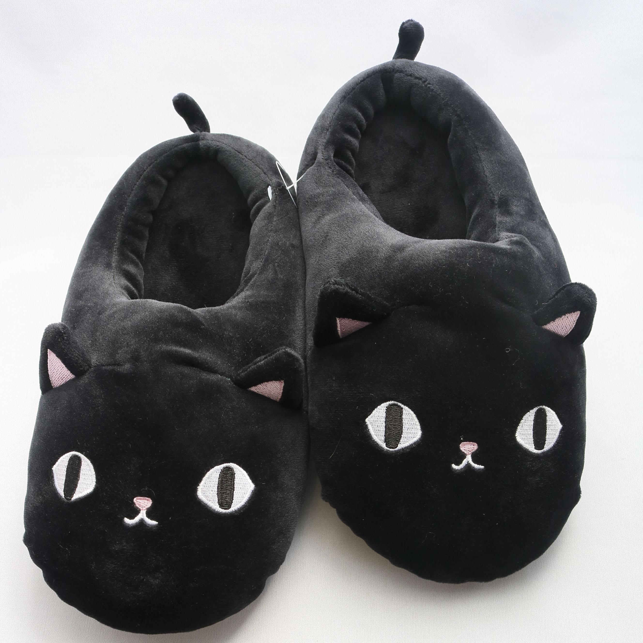猫雑貨 猫グッズ スリッパ ルームシューズ秋田 かぎしっぽ